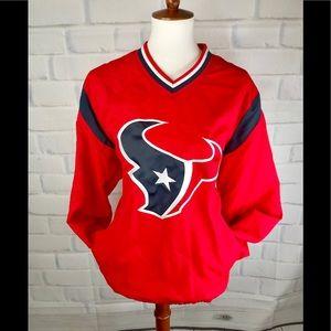 N F L : Houston Texans Pullover Windbreaker Jacket